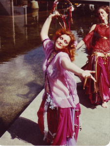 vintage belly dance